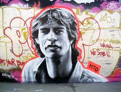 Mick Jagger, by MTO