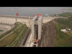 China Opens the World's Largest Ship Elevator at Three Gorges Dam on the Yangtze River