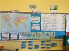 Ar Saoire New Classroom, Classroom Displays, 6 Class, Irish Language, Teaching Tools, Lesson Plans, How To Plan, Education, Words