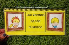 """Rincón de una maestra: Libro móvil """"Los vecinos de los números"""""""