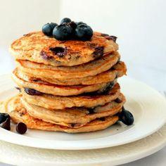 Blueberry Almond Gluten-Free Pancakes Recipe on Food52 recipe on Food52