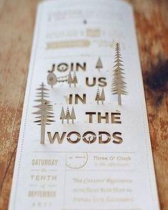 Christine + Ian's DIY Woodland Wedding Invitations… Handmade Wedding, Diy Wedding, Dream Wedding, Wedding Day, Woodsy Wedding, Trendy Wedding, Wedding Photos, Wedding Videos, Wedding Stationery
