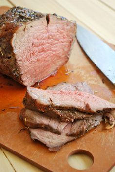 """Roast Beef recipe that I am trying out. minus a few ingredients that i am missing :S and I have a """"round roast"""" not sure if that is the same thing! It actually turned out pretty well! Not that juicy but great with gravy"""