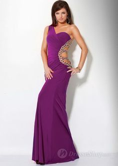 Robe de Bal de Finissants en  Satin avec Cristal prom dresses 2013 Evening Dresses Cocktail Dresses