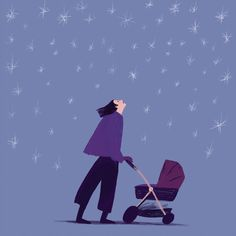 An illustration about the emotions of a single mother Magic, Illustrations, Movie Posters, Movies, Art, Art Background, Film Poster, Films, Illustration