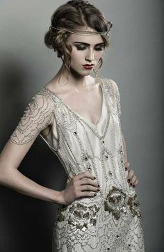 Jenny Packham Eden wedding dress PLATINUM Never worn for sale