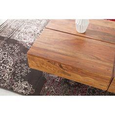 Konferenční stolek Lota 110cm sheesham - 4