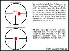 Schießen auf ein bewegliches Ziel Outdoor Toys, Hunting, Chart, Weapons Guns, Mathematics, Weapons, Goal, Education, Fighter Jets