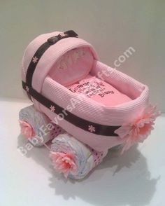Diaper Buggy for a Little Girl