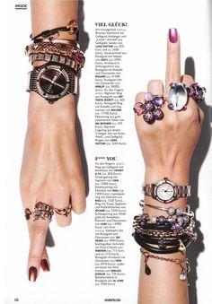 Endless Jewelry in Zeitschriften und TV Werbung