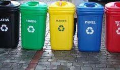 Contenedores de reciclaje de 120 lts con ruedas, 7 colores. la tapa tienen perforación. Consulte y cotice en ventas@ecosas.cl