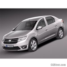 Dacia Logan 2013 - 3D Model