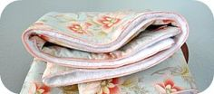 Thumbnail image for Tutorial ~ Tied Comforter With Faux Piping