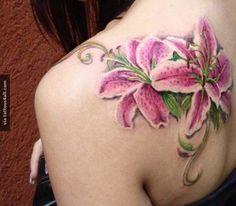 Tattoo on Shoulder for Women