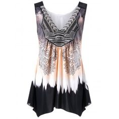 SHARE & Get it FREE | Plus Size Ombre Asymmetric Tank TopFor Fashion Lovers only:80,000+ Items·FREE SHIPPING Join Dresslily: Get YOUR $50 NOW!