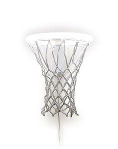 """Basketballkorb-Lampe """"Dunk"""" on http://www.drlima.net"""