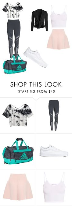 """""""Untitled #15"""" by alwaysoreos on Polyvore featuring Alo, adidas, Vans, RED Valentino, BasicGrey and NIC+ZOE"""
