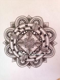 Another ZIA Mandala My Drawings, Rolex Watches, Mandala, Accessories, Mandalas, Coloring Pages Mandala