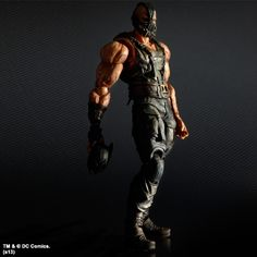 Kirin Hobby : The Dark Knight Trilogy Play Arts Kai: Bane Action Figure 662248812304