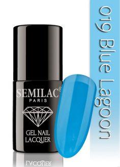 Semilac 019 Blue Lagoon UV&LED Nagellack. Auch ohne Nagelstudio bis zu 3 WOCHEN perfekte Nägel!