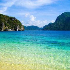 El Nido--- a province of Palawan in the Philippines Voyage Philippines, Les Philippines, Philippines Beaches, Philippines Travel, Philippines Palawan, Varadero, Beautiful Islands, Beautiful Beaches, Cuba