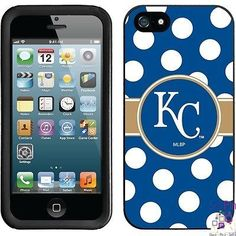 $27.00: Kansas City Royals iPhone 5 New Guardian Case (Polka Dots Design)