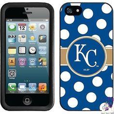 $27.00: Kansas City Royals iPhone 5 New Guardian Case (Polka Dots Design)