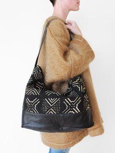 Osei-Duro » Bogalon Bag - Black Leather