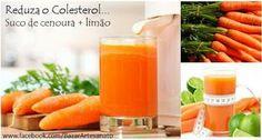 Como reduzir o colesterol com suco de cenoura