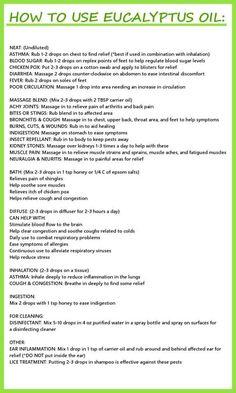 Eucalyptus Oil Uses Doterra Essential Oils, Natural Essential Oils, Young Living Essential Oils, Essential Oil Diffuser, Essential Oil Blends, Wild Orange Essential Oil, Spearmint Essential Oil, Lemongrass Essential Oil, Natural Oils