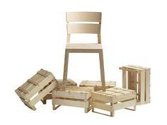 SATSUMA | Sedia in legno massello. Sedia impilabile in frassino con schienale aperto. in legno massello, in frassino Designer:  LÄUFER + KEICHEL