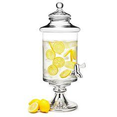 Large Glass Infusion Jar