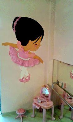 by Waneressa Ig. Artes em E.V.A: Bailarina em eva