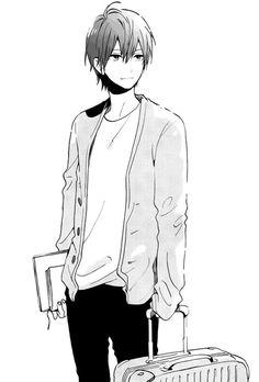 Manga cool boy   #manga #mangaanime #art #blackandwhite #love #kawaii #cute #ezmkurd #مانجا #مانجا_كاواي #انمي_ابيض_واسود #كيوت