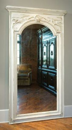 Tall mirror....perfect for area with high ceiling or loft space.