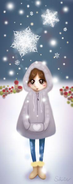 snowgirl by *PinkBunnyLilli on deviantART