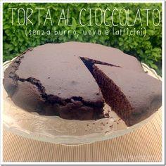 Mammarum: Torta al cioccolato senza burro uova e latticini, ...