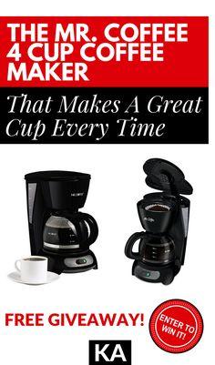 Mr Coffee Giveaway