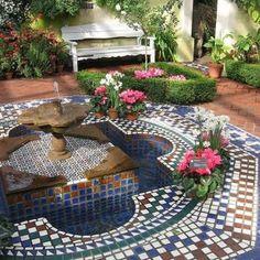 19 best Moroccan garden images on Pinterest | Moroccan garden ...