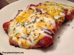 Bacon wrapped pork chops on MyRecipeMagic.com