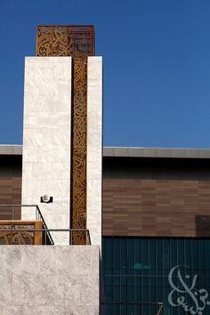 modern islamic minaret Mosque Architecture, Architecture Wallpaper, Religious Architecture, Concept Architecture, Classical Architecture, Contemporary Architecture, Architecture Design, Architecture Sketches, Facade Design