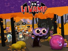 New and fun iOS game! ZOMG CUTE - It's your job to guide and protect the rambunctious young Le Vamp as he runs through the forest, oblivious to the dangers it contains. https://itunes.apple.com/us/app/le-vamp/id602727807?mt=8#