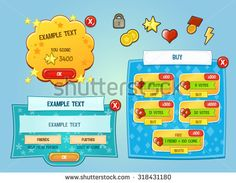 Find Game Elements Interface stock images in HD and millions of other royalty-free stock photos, illustrations and vectors in the Shutterstock collection. Vector Game, Game Ui Design, Royalty, Games, Free, Royals, Gaming, Plays, Game