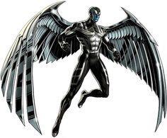 Archangel Comics | Archangel - Marvel Comics - X-men | X-Factor - Metal wings Angel