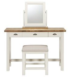 padstow dressing table stool u0026 mirror set marks u0026 spencer ordered this for my room so excited