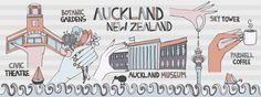 Auckland, New Zealand by Elizabeth Torres