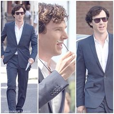 Benedict Cumberbatch - he looks like a movie star!