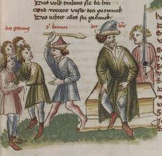 Thomasin <Circlaere>   Welscher Gast (a) Schwaben, um 1460-1470 Cod. Pal. germ. 320 Folio 31r