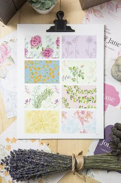 Floral Graphics Pack by emine on @creativemarket