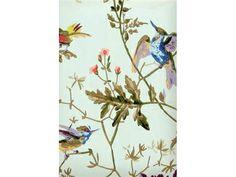 Cole & Son HUMMINGBIRDS RUBAN 62/1004.CS - Lee Jofa New - New York, NY, 62/1004.CS,Lee Jofa,Sidewall, Paper,Blue,Up The Bolt,HUMMINGBIRDS,United Kingdom,Yes,Cole & Son,HUMMINGBIRDS RUBAN